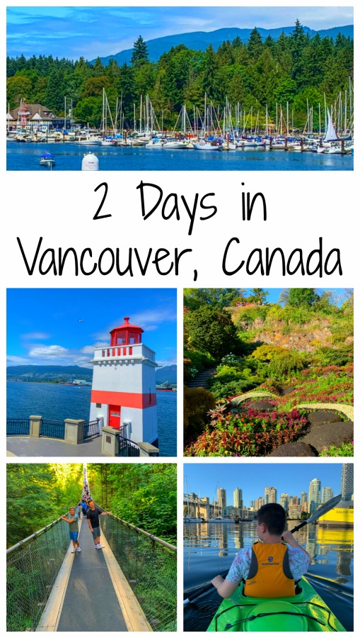 Vancouver is a city nestled between the ocean and the mountains, with plenty of ways to keep anyone happy. Read on for my two-day itinerary for Vancouver, Canada. #VisitBC #thingstodoinVancouver #48hoursin #Vancouver #TBIN #themidlifeperspective