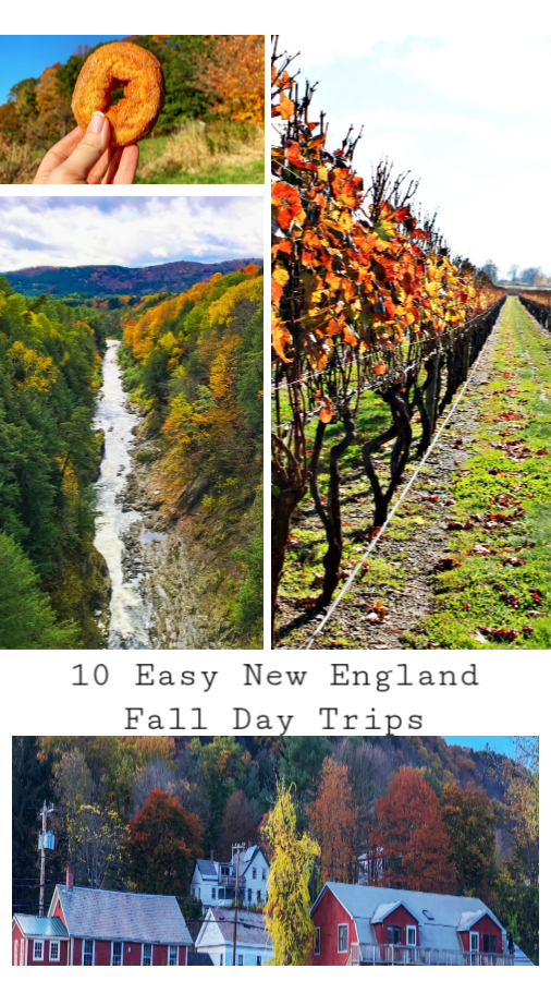 Explore the unbeatable foliage of New England one day trip at a time. Read on for 10 New England day trip ideas. #fall #NewEngland #TBIN #themidlifeperspective