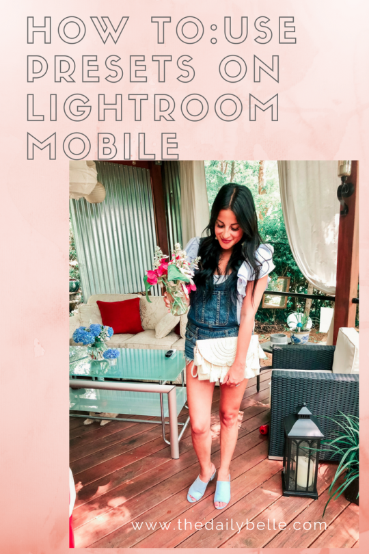 How To Use Presets on Lightroom Mobile