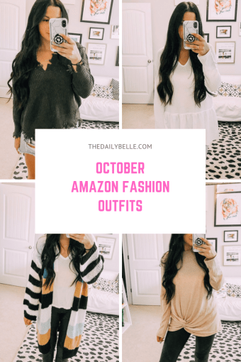 October Amazon Fall Outfits