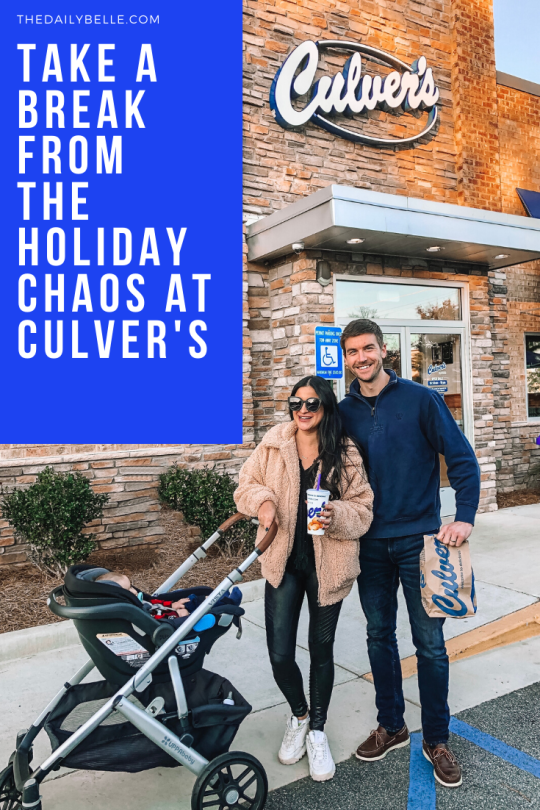 Take a Break from the Holiday Chaos at Culver's