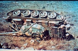 The Golan Heights were very punishing for mistakes.