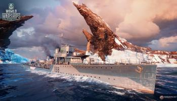World of Warships Supertest: Tier VII British Destroyer Jarvis