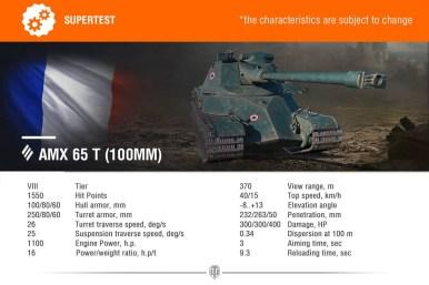 AMX 65T 100mm