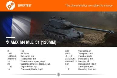 AMX M4 MLE 51 120MM
