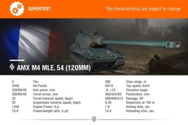 AMX M4 MLE 54 120MM