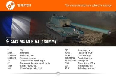 AMX M4 MLE 54 127MM
