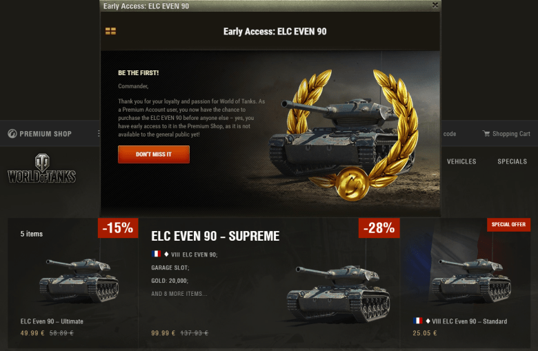 ELC EVEN Early Access