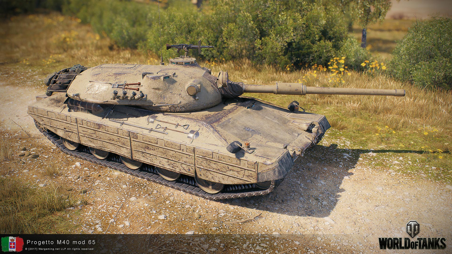 wot blitz all tanks mod