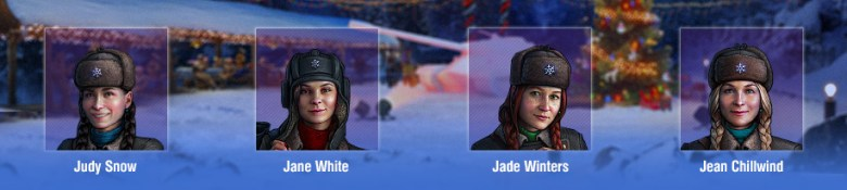 Holiday Ops 2019 Female Crew Members