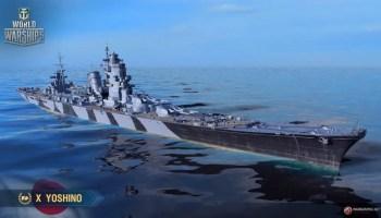 Kii – Tier VIII – Japanese Battleship – Stats, Armour & Pictures