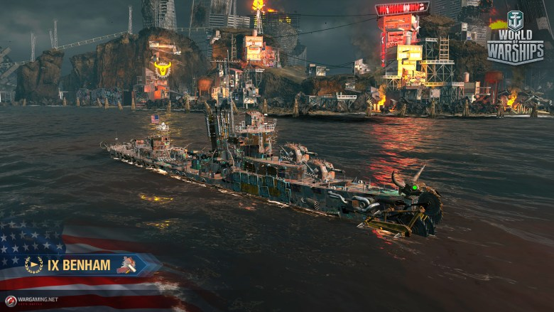 World of Warships: Rogue Wave (Possibility to get the Hill