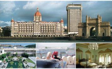 THE TAJ MAHAL PALACE, MUMBAI AND TAJ LAKE PALACE, UDAIPUR RANKED AMONG THE WORLD'S TOP 100 HOTELS AT THE PRESTIGIOUS CONDE NAST TRAVELLER UK READERS' TRAVEL AWARDS 2018