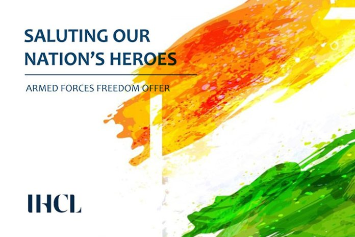 IHCL PAYS TRIBUTE TO THE INDIAN ARMED FORCES THIS INDEPENDENCE DAY
