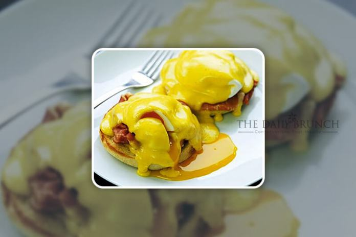 Eggs Benedict is a classic American breakfast or brunch dish