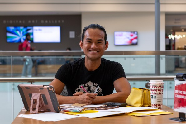 """""""Try to make the time to stay motivated, especially since Thanksgiving is coming up,"""" said finance junior Elle Estanol. """"I think the hardest part is not letting the momentum escape you."""" 