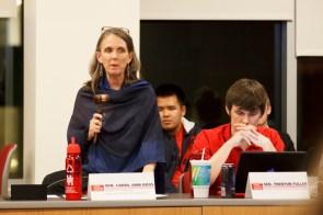 Graduate College of Social Work Senator Carol Ann Ross was one of five senators who sponsored the articles of impeachment. | Justin Tijerina/The Daily Cougar