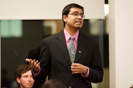 Undergraduate at-large Senator Tanzeem Chowdhury co-sponsored the articles of impeachment, saying that the Commissioner's behavior negatively affected SGA. | Justin Tijerina/The Daily Cougar