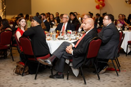 Administrators from Chancellor and President Renu Khator's cabinet and University deans were in attendance. | Justin Tijerina/The Daily Cougar