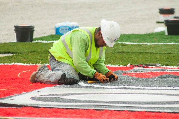 Anticipation is building for the completion of construction as TDECU Stadium nears completion. | Emily Chambers/ The Daily Cougar