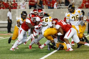 The Cougars' defense was strong throughout the game as they shutout the Tigers. | Justin Tijerina/The Cougar