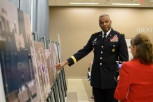 U.S. Army Major General Barrye L. Price recalls the significance of the event. | Dailey Hubbard/ The Cougar