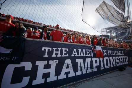 35,721 fans watched the American Athletic Conference Championship game from the stands at TDECU Stadium. | Justin Tijerina/The Cougar