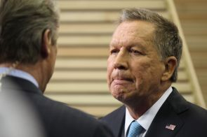 Ohio Gov. John Kasich.| Mónica Rojas/ The Cougar