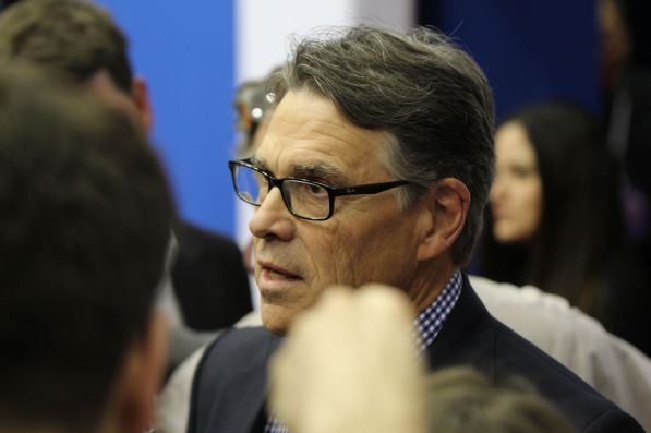 Former Texas Gov. Rick Perry.| Glissette Santana/ The Cougar