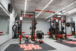 The teams also have a new strength and conditioning room dedicated to their just basketball. | Justin Tijerina/The Cougar