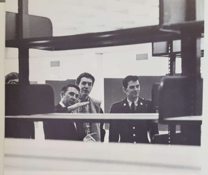 The Law Library is one of the most historic locations on campus years after its construction. | The Houstonian, 1969.