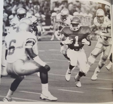 In the first game of the season, The Cougars ran over UNLV by a score of 37-9. After this game, the team jumped to 18th in the polls. | Archive photo/The Cougar