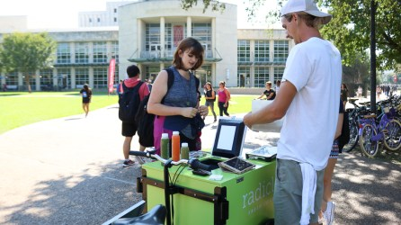 Students can use Cougar Cash to purchase any of Radicle's juices. | Jessica Cruz/The Cougar