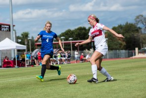 McEntire leads all Cougar soccer players with 1,363 minutes played in 2016. | Justin Cross/The Cougar