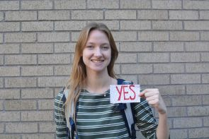 """""""I think a lot of people just don't know what SGA is, or if they do, they don't realize that SGA actually does impact them as students,"""" said communication freshman Morgan Michalec. """"I do think it is important to vote because these people have the power to impact your life as a student."""" 
