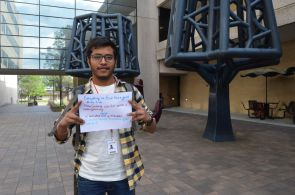 """I read a paper or a blog recently that said that marijuana can kill cancer when it's in the starting stages,"" said industrial engineering graduate student Santhosh Somisetty. ""The first time, we should not give a harsh punishment. Having education classes is a very good thing because they should know what is right and what is wrong and the consequences. But what happens if they get addicted to it? That should be a focus of the classes."" 