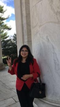 Valerie Campos is a political science junior and a member of UH Democrats and YAL | Courtesy of Valerie Campos