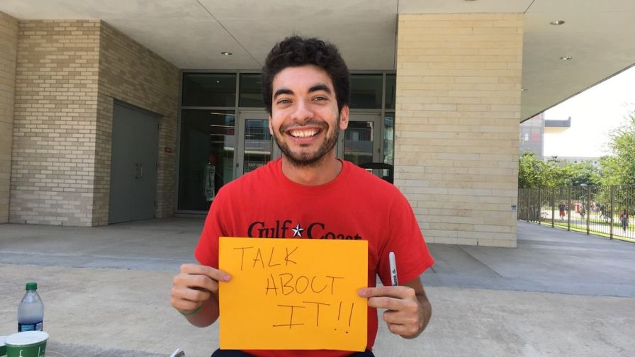 """I've been to CAPS and I had a really good experience with them,"" said psychology junior Micheal Garza. ""They can do a better job in promoting that there is help here."""