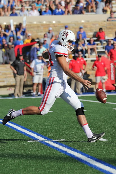 A third quarter coffin-corner kick from sophomore punter Dane Roy pinned Tulsa on the 1-yard line deep in its own territory. However, Tulsa's ensuing drive still resulted in a touchdown. | Thomas Dwyer/The Cougar