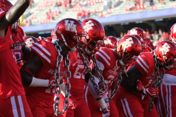 """Players and fans alike started the game with the tradition of the """"cage sway"""" at TDCEU Stadium on Saturday night. The motivational ritual started by former head coach Tom Herman has carried into the Major Applewhite era. 