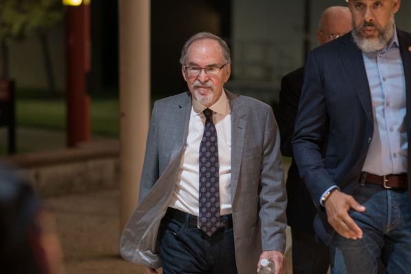 David Horowitz, who leads the The David Horowitz Freedom Center, named UH among the top ten schools that support terrorism. | Corbin Ayres/The Cougar