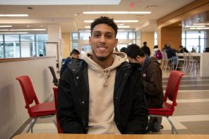 """""""I just plan on going home and spending time with the family,"""" said petroleum engineering sophomore Trey Woods. 