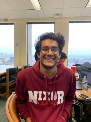 """""""I had a friend in (Students Unite), honestly that's the reason,"""" said computer science freshman Suleman Saad Khan. 