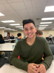 """""""I went to Six Flags Fiesta Texas in San Antonio,"""" said kinesiology junior Carlo Sandil. """"I didn't like the lines, so I forced myself to buy a fast pass."""" 