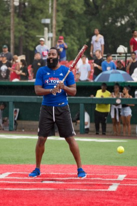Rockets guard James Harden hosted several events for his charity's JH-Town Weekend. | Trevor Nolley/The Cougar