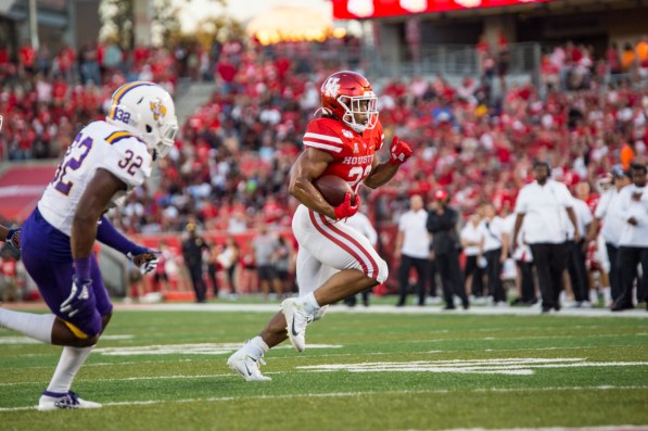 This is the first season at Houston for running back Kyle Porter after transferring from Texas. | Trevor Nolley/The Cougar