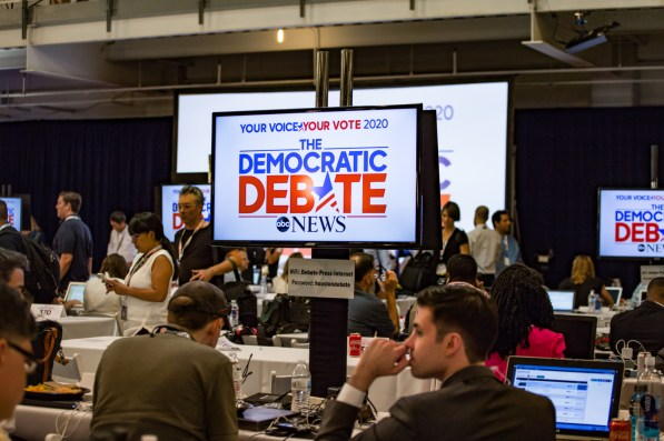 The Democratic Debate on Thursday marked the third time eligible candidates were on the debate stage during the 2020 primary. | Trevor Nolley/The Cougar