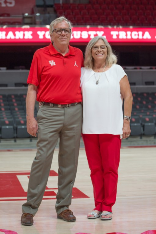 "Rusty and Tricia Penick contributed to the ""Here We Go"" fundraising campaign. 
