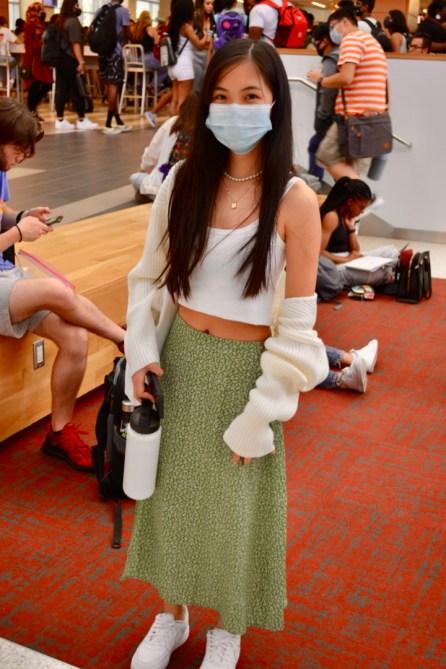 Christine Ngo, biology sophomore. | Haya Panjwani/The Cougar