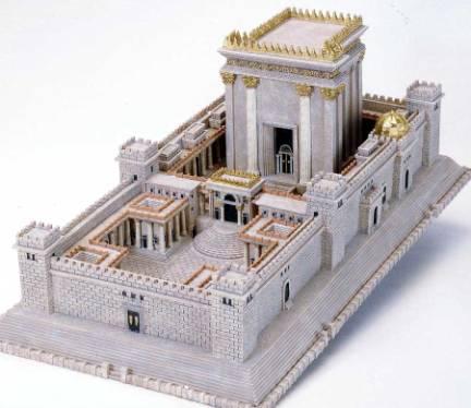 Rendering of Solomon's Temple